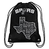 FOCO NBA San Antonio Spurssmu St Drawstring Backpack, San Antonio Spurs, One Size