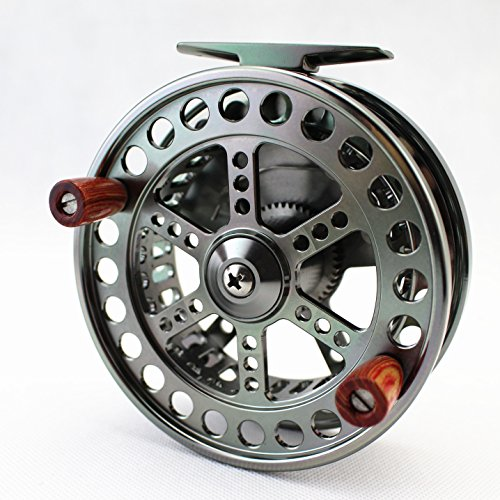 CNC MACHINED Aluminum Center PIN CENTERPIN Float Fishing Reel 108MM 4 1/4 INCH Steelhead Salmon Trotting Fishing