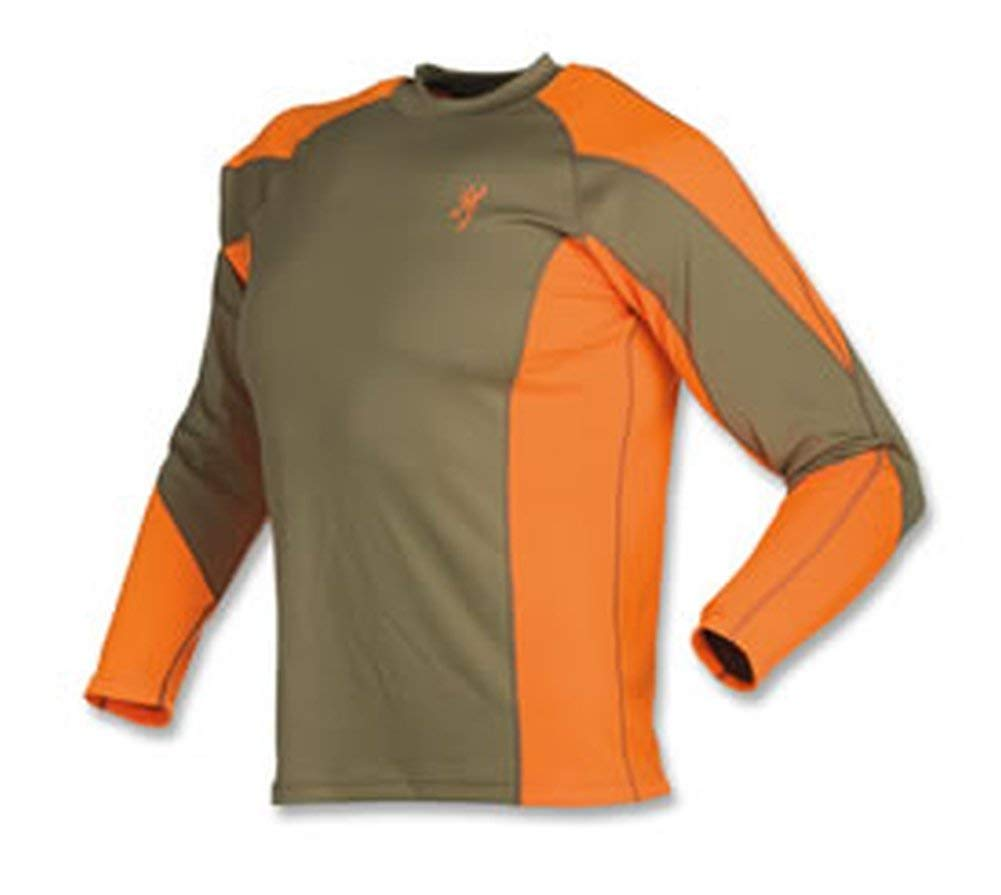 Browning NTS Upland Shirt, Blaze, 3X-Large by Browning