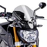 New Puig Windshield Wind Screen 2014 2015 FZ-09 MT 09 Touring Smoke Shield