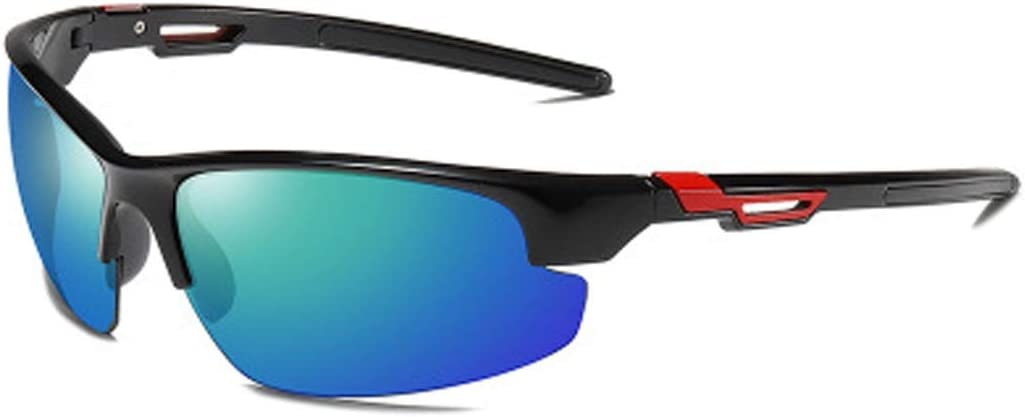 Nuevas gafas de sol deportivas polarizadas para hombres, 8539 gafas de ciclismo para exteriores, lentes TAC resistentes a la radiación, protección UV400 gafas de sol contra la tormenta de arena para m