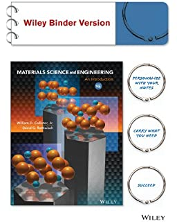Amazon engineering mechanics binder ready version statics materials science and engineering an introduction 9e binder ready version wileyplus registration card fandeluxe Gallery
