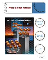 Materials Science and Engineering: An Introduction 9e Binder Ready Version + WileyPLUS Registration Card