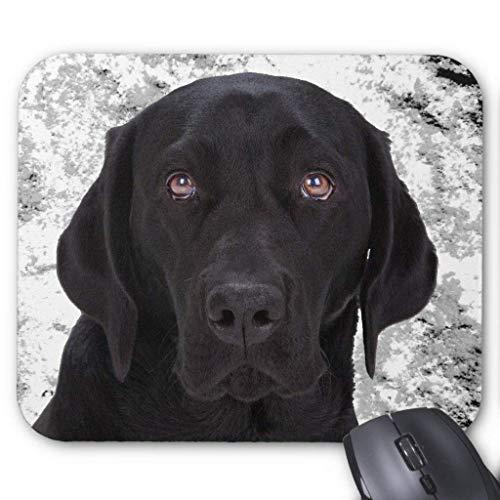 Black Labrador Retriever Mouse Pad 18cm x -