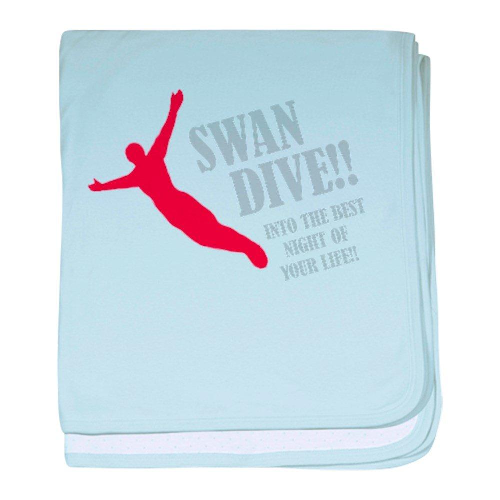 CafePress - Swan Dive - Baby Blanket, Super Soft Newborn Swaddle