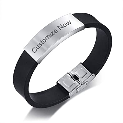 Amazon Com Comfybuy Cf Custom Free Engraving Personalized Stainless