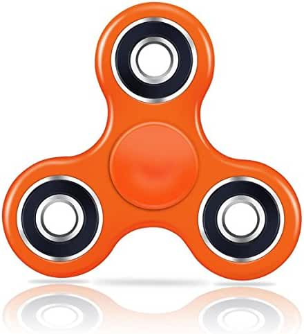SMAZ LIFE Anti-Anxiety Fidget Spinner Toy Helps Focusings EDC Focus Toy for Kids & Adults - Best Stress Reducer Relieves ADHD Anxiety and Boredom Ceramic Cube Bearing