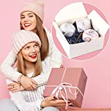 Moretoes White Gift Boxes 12 Pack 8x8x4
