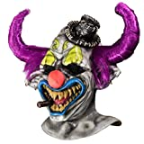 Rubie's Men's Dj Ashba Clown Deluxe Overhead Mask, Multi, One Size