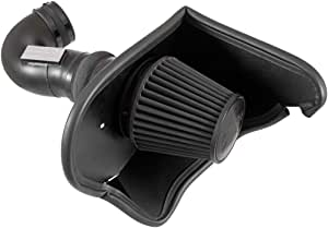 K&N Cold Air Intake Kit: High Performance, Guaranteed to Increase Horsepower: 2016-2019 Chevy Camaro SS, 6.2L V8, 71-3092