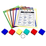 PDX Reading Specialist Dry Erase Pocket Sleeves - 6