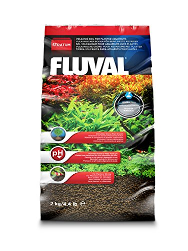 Fluval Plant and Shrimp Stratum, 4.4-Pound (Best Soil Substrate For Planted Aquarium)
