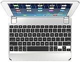 Brydge 9.7 Bluetooth Keyboard for NEW 5th Gen Apple iPad, Pro 9.7, Air 1 & 2 – Silver
