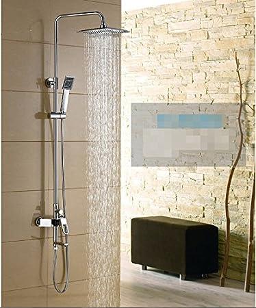 ascensor de lujo ducha giratoria juego de ducha de la columna ...