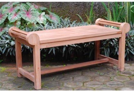Windsor's Genuine Grade A Teak Lutyens Coffee Table/Backless Bench