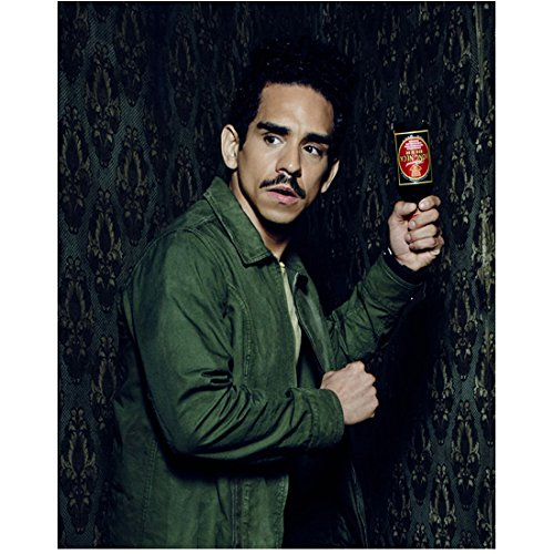 Ash vs. Evil Dead (TV Series 2015 - ) 8 inch x 10 inch photograph Ray Santiago from Waist Up w/Beer Bottle as Weapon kn