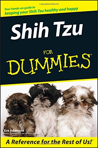 Shih Tzu For Dummies by For Dummies