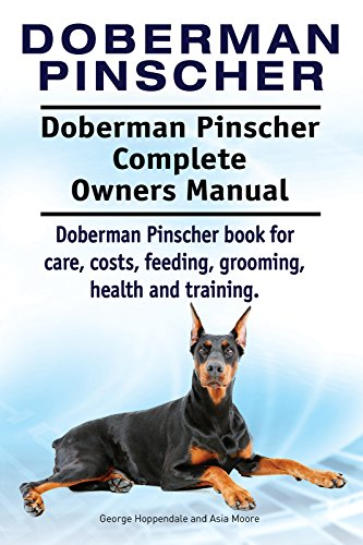 Doberman Pinscher Dog Doberman Pinscher Book For Costs Care
