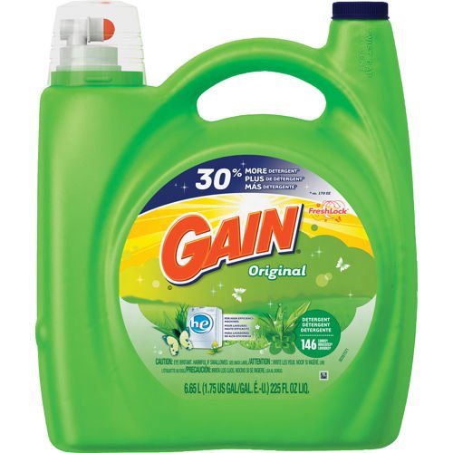 Gain He High Efficiency Original Liquid Laundry Detergent, 225 oz