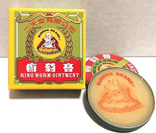 Yee Tin - 1PC,RING WORM OINTMENT, SKIN CARE, 6.5 G, BUDDAHA BRAND, (NEW)