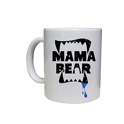 a5cf0c9c1c Amazon.com: Mama Bear Coffee Mug - Funny Coffee Mug - Funny Mugs - Custom  Coffee Mug - Gift For a Mom - Personalized Coffee Cup 11oz: Kitchen & Dining