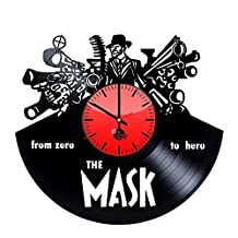 Comedy Film Vinyl Wall Clock - Get unique living room wall decor - Gift ideas for friends, teens – Cool Unique Art Design - Leave us a feedback and win your custom clock