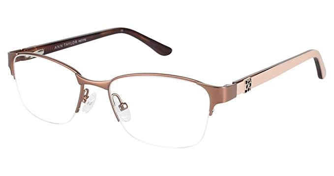 59414d5f43b Ann Taylor ATP701 Eyeglass Frames - Frame BROWN KHAKI at Amazon ...