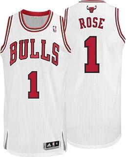 100% authentic df497 da9a8 Amazon.com : Adidas Chicago Bulls Derrick Rose Swingman Home ...