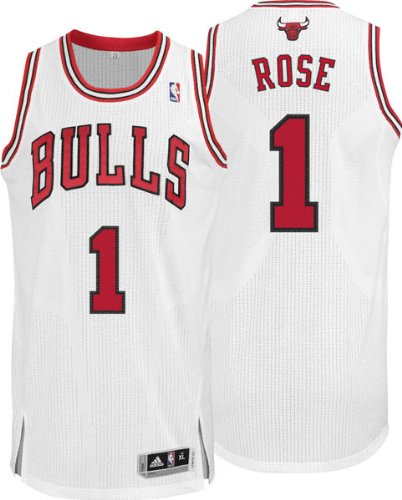 pretty nice 10bb7 1498b Amazon.com: Derrick Rose Chicago Bulls Authentic Revolution ...