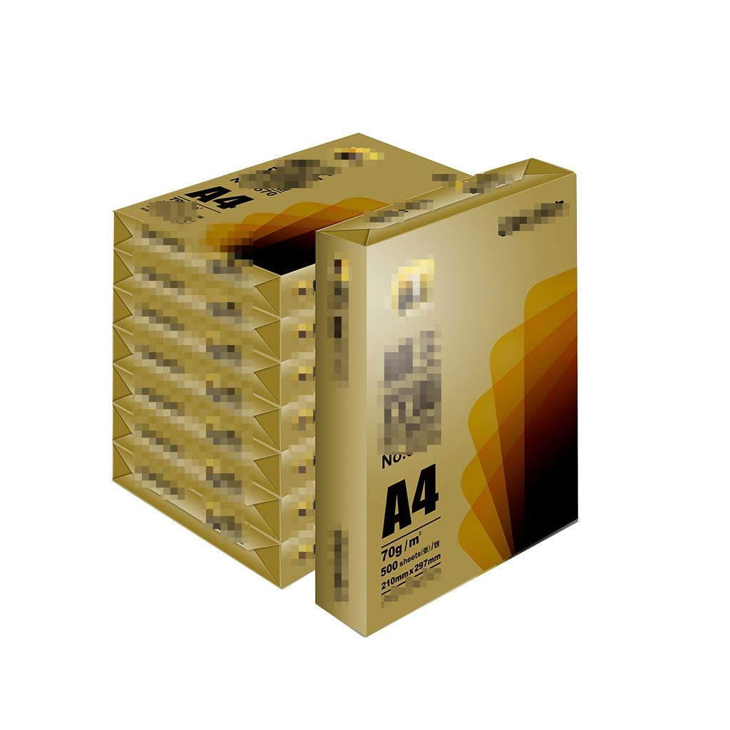 A4 Paper Printing Paper A4 White Paper A4 Copy Paper Office Inkjet Printers Laser Copier Paper Copy Paper a4 Paper Ream (Size : B) by JXLG