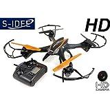s-idee® 01201 | Quadcopter U842 HD KAM 4.5 Kanal 2,4 Ghz Quadrocopter Udi RC ferngesteuerter Hubschrauber/Helikopter/Heli mit GYROSCOPE-TECHNIK + 2,4Ghz TECHNOLOGIE!!! für INNEN und AUSSEN brandneu mit eingebautem GYRO und 2.4 GHz Steuerung! FLUGFERTIG!