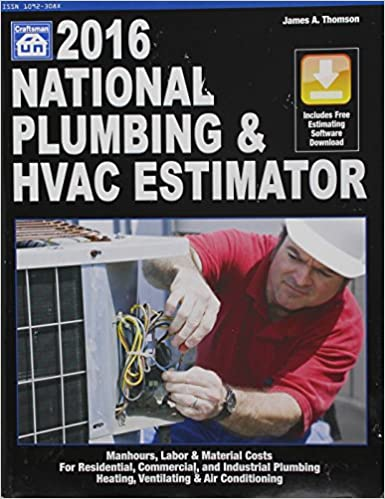 national plumbing hvac estimator 2016 national plumbing hvac estimator wcd 2016 ed edition - Hvac Estimator