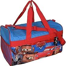 "Disney Pixar Cars Lighting McQueen 18"" Carry-On Duffel Bag"
