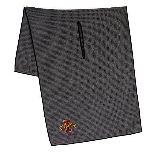 (Team Effort Iowa State Cyclones Grey Microfiber Towel)