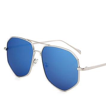 Mode Persönlichkeit Sonnenbrille,, Koreanische Version von Sonnenbrillen, Farbe film Sonnenbrille