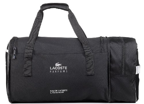 Bag Black Unique Foldable Backpack Holdall 12 Men's Lacoste L 12 Duffle ED2W9HIY