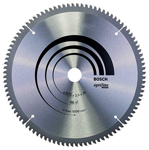 Bosch Zubehör 2608640442 Kreissägeblatt Optiline Wood 305 x 30 x 2,5 mm, 96