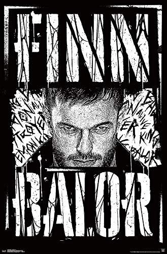 (Trends International WWE-Finn Balor Mount Bundle Wall Poster 22.375