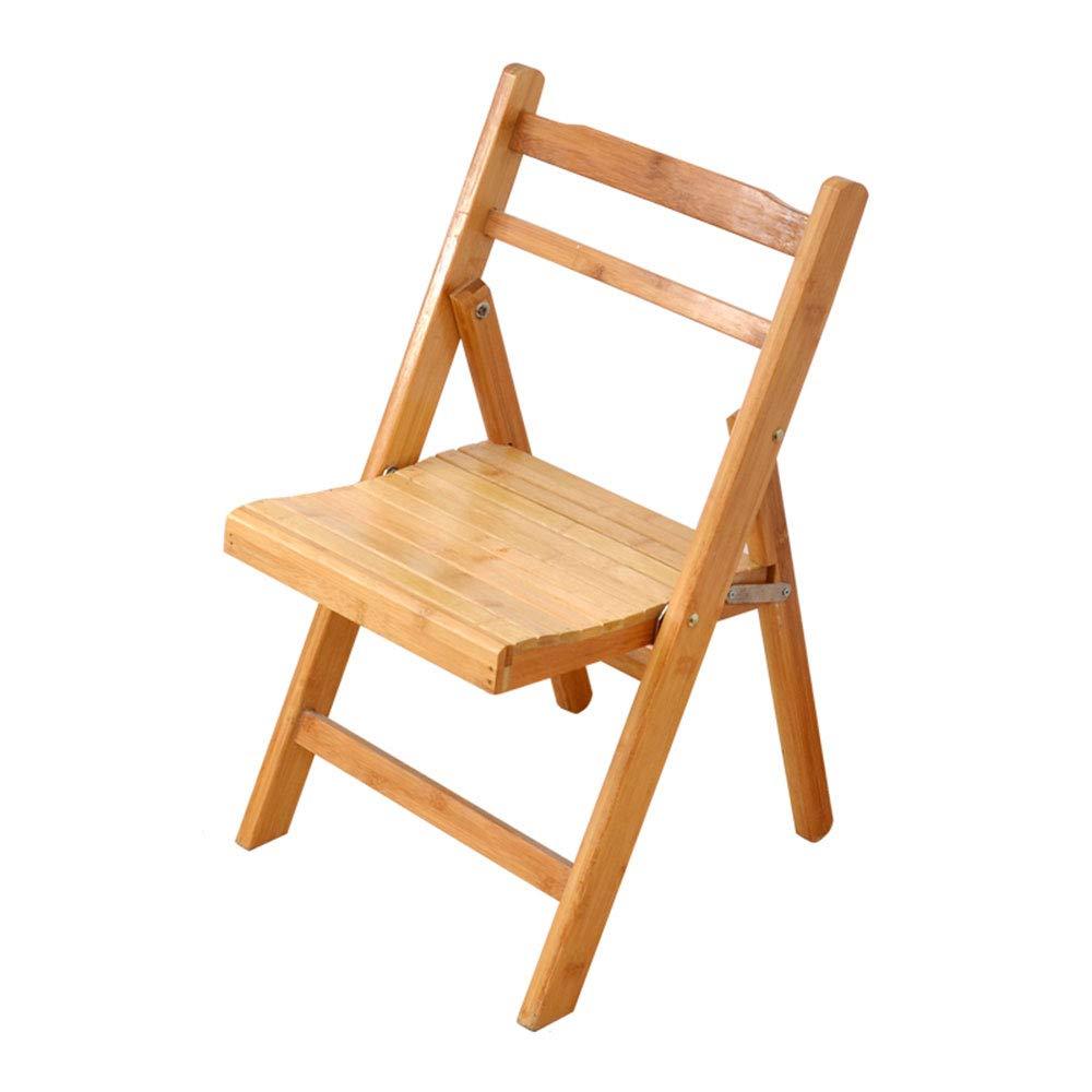 Amazon.com: Folding Chair, Wooden Folding Garden Camping Fishing ...