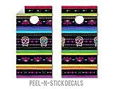 Mexican Blanket - Cornhole Crew - ACA Regulation Size Cornhole Board Decals