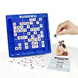 JUNSHEN Plastic Sudoku Puzzle Board Games Classical Puzzle Toys Brain Digital Puzzle Toys for Kids and Adults