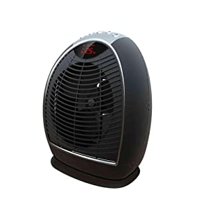 MIDEA INTERNATIONAL TRADING CO Pelonis Oscillating Digital Fan Heater