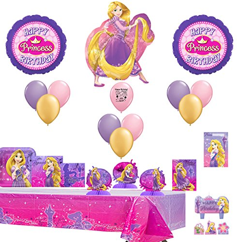 (Combined Brands Disney Rapunzel Party Supply and Balloon Decorating Kit)