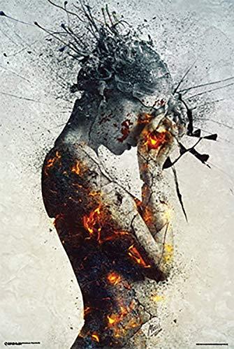 (Laminated Deliberation Poster Art Print 24x36)