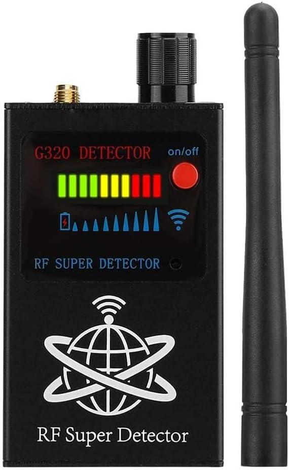 Detector de señal GPS multifuncional con sensor antivigilancia y sensor de señal GPS inalámbrico para posicionamiento