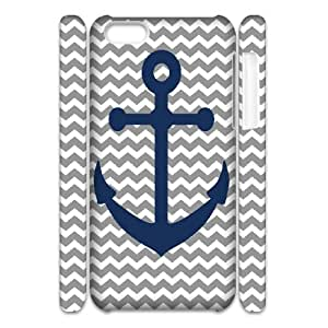 3D Jumphigh ANCHORS AWAY! FREE PRINTABLES IPhone 5C Cases, Funny Design Iphone 5c Cases For Girls {White}