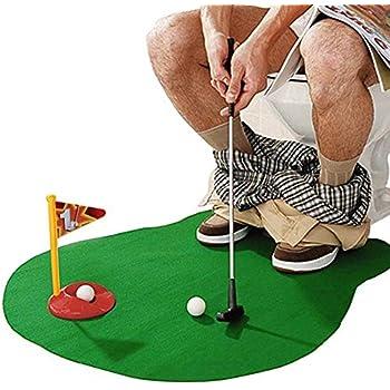 Amazon.com: NXqilixiang - Juego de inodoro para golf ...