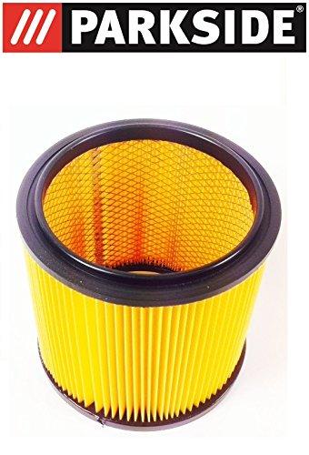 PARKSIDE LIDL Faltenfilter Filter Trockenfilter mit Stahlinnengitter Filterpatrone Trockenfilter für Nass Trocken Sauger PNTS 23 E 1250 1300 A1 B2 C3 1400 A1 B1 C1 D1 1500 A1 B2 B3