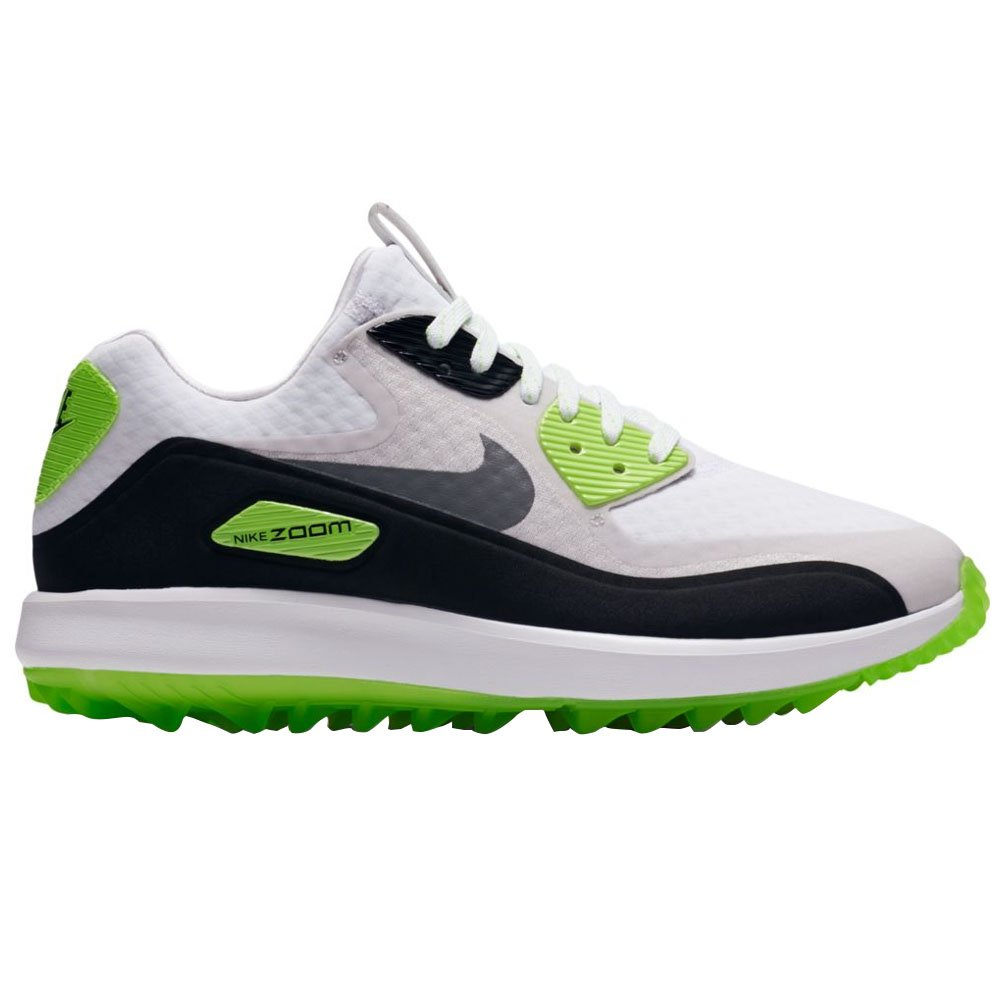Nike Air Zoom 90 IT Spikeless Golf Shoes 2017 Women White/Cool Gray/Neutral Gray/Black Medium 5
