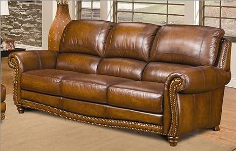 Amazon.com: Parker sofá de piel color: Berenger San Marco ...